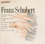 SCHUBERT - Brendel - Six moments musicaux, pour piano op.94 D.780