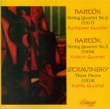 BARTOK - Budapest String - Quatuor à cordes n°2 op.17 Sz.67