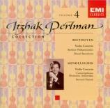 BEETHOVEN - Perlman - Concerto pour violon en ré majeur op.61