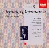 DVORAK - Perlman - Concerto pour violon op.53