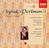 TCHAIKOVSKY - Perlman - Concerto pour violon en ré majeur op.35