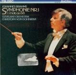 BRAHMS - Dohnanyi - Symphonie n°1 pour orchestre en do mineur op.68