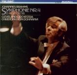 BRAHMS - Dohnanyi - Symphonie n°4 pour orchestre en mi mineur op.98
