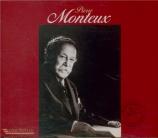 Pierre Monteux à Paris et à San Francisco