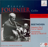 BEETHOVEN - Fournier - Sonate pour violoncelle et piano n°2 op.5 n°2