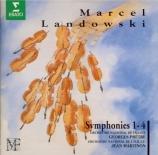 LANDOWSKI - Martinon - Symphonie n°1 'Jean de la peur'