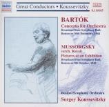 BARTOK - Koussevitsky - Concerto pour orchestre Sz.116 BB.123