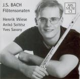 BACH - Wiese - Sonate pour flûte (ou flûte à bec) et b.c. en mi mineur B