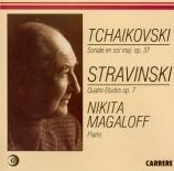 TCHAIKOVSKY - Magaloff - Grande sonate, pour piano en sol majeur op.37