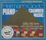 Piano Chamber Music