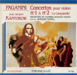 PAGANINI - Kantorow - Concerto pour violon n°1 en ré majeur op.6 M.S.21