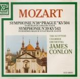 MOZART - Conlon - Symphonie n°38 en ré majeur K.504 'Prague'