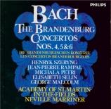 BACH - Marriner - Concerto brandebourgeois n°4 BWV 1049