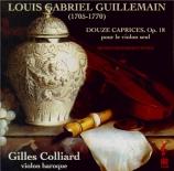 GUILLEMAIN - Colliard - Douze caprices pour violon seul op.18