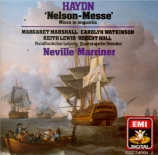 HAYDN - Marriner - Missa in Angustijs, pour solistes, choeur mixte, orche
