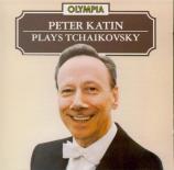 TCHAIKOVSKY - Katin - Sonate pour piano n°1 op.37 'Grande Sonate'
