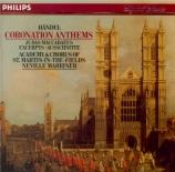 HAENDEL - Marriner - Coronation anthems (intégrale)