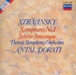 STRAVINSKY - Dorati - Symphonie pour orchestre en mi bémol majeur op.1