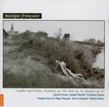 SAINT-SAËNS - Pasquier - Fantaisie pour violon et harpe op.124