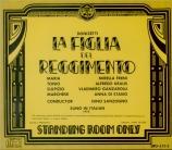 DONIZETTI - Sanzogno - La figlia del reggimento (La fille du régiment) Live 1975