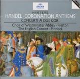 HAENDEL - Preston - Zadok the priest, anthem HWV.258 (Coronation anthem