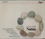 BELLINI - Bonynge - Norma (live MET 4 - 4 - 70) live MET 4 - 4 - 70