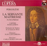 PERGOLESE - Giulini - La serva padrona