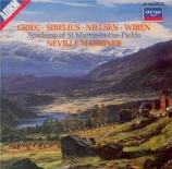 GRIEG - Marriner - Holberg suite op.40 : version pour orchestre à cordes