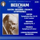 HAYDN - Beecham - Symphonie n°93 en ré majeur Hob.I:93