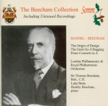 HAENDEL - Beecham - Concerto pour piano en la majeur (arr. Beecham)