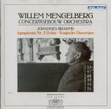 BRAHMS - Mengelberg - Symphonie n°2 pour orchestre en ré majeur op.73