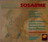 HAENDEL - Sommary - Sosarme, re di Media, opéra en 3 actes HWV.30