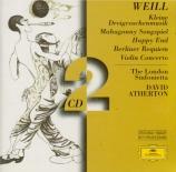 WEILL - Atherton - Kleine Dreigroschenmusik für Blasorchester