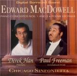 MacDOWELL - Han - Concerto pour piano n°1 op.15
