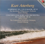ATTERBERG - Ehrling - Symphonie n°3 op.10 'West coast pictures'