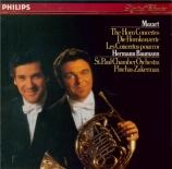 MOZART - Baumann - Concerto pour cor et orchestre n°3 en mi bémol majeur