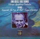 BRAHMS - Gilels - Concerto pour piano et orchestre n°2 en si bémol majeu