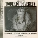 DONIZETTI - Caballé - Roberto Devereux : extraits (live 1977) live 1977