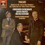 MOZART - Schmidt - Concerto pour trois pianos et orchestre n°7 en fa maj