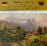 WETZ - Peter - Symphonie n°3 op.48