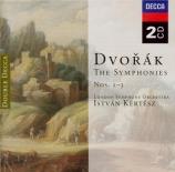 DVORAK - Kertesz - Symphonie n°1 en do mineur B.9 'Les cloches de Zlonic