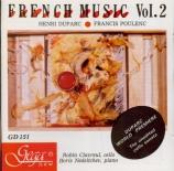 DUPARC - Clavreul - Sonate pour violoncelle et piano