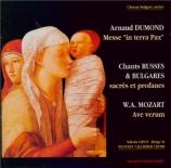 DUMOND - Lipov - Messe in terra pax