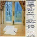 TCHAIKOVSKY - Paperno - Méditation op.72 n°5