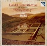 HAENDEL - Pinnock - Concerto grosso en sol majeur op.6 n°1 HWV.319
