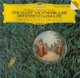 MOZART - Orpheus Chamber - Sérénade n°13, pour orchestre en sol majeur K