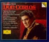 VERDI - Abbado - Don Carlos, opéra en cinq actes (version originale 1867