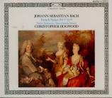 BACH - Hogwood - Six suites françaises BWV 812-817