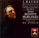 HAYDN - Michelangeli - Concerto pour clavier et orchestre en ré majeur H