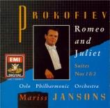 PROKOFIEV - Jansons - Romeo et Juliette : suite n°1 op.64b